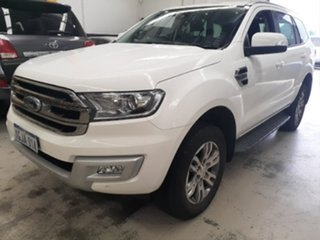2017 Ford Everest UA MY17 Trend White 6 Speed Automatic SUV.