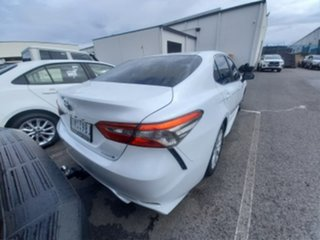 2018 Toyota Camry AXVH71R Ascent Sport Hybrid Frosted White Continuous Variable Sedan.