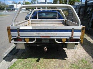 2002 Ford Falcon BA XLS Blue 4 Speed Auto Seq Sportshift Cab Chassis