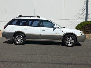 1998 Subaru Outback B3A Limited AWD White 4 Speed Automatic Wagon.