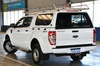2017 Ford Ranger PX MkII MY17 XL 2.2 Hi-Rider (4x2) Cool White 6 Speed Automatic Crew Cab Pickup.