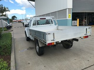 2015 Isuzu D-MAX MY15 SX 4x2 High Ride White 5 speed Automatic Cab Chassis