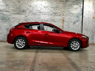 2017 Mazda 3 BN5478 Touring SKYACTIV-Drive Red 6 Speed Sports Automatic Hatchback