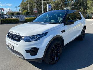 2016 Land Rover Discovery Sport L550 17MY SE White 9 Speed Sports Automatic Wagon.