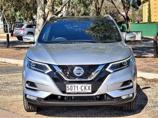 2021 Nissan Qashqai J11 Series 3 MY20 Ti X-tronic Silver 1 Speed Constant Variable Wagon.