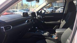 2018 Mazda CX-5 KF4WLA Maxx SKYACTIV-Drive i-ACTIV AWD Sport Billet Silver 6 Speed Sports Automatic