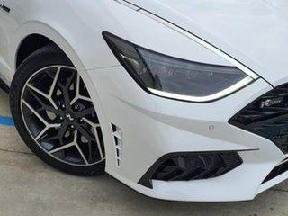 2021 Hyundai Sonata DN8.V1 MY21 N Line DCT White 8 Speed Sports Automatic Dual Clutch Sedan.