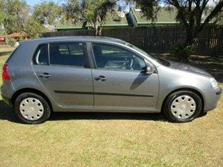 2007 Volkswagen Golf V MY07 Comfortline Tiptronic Grey 6 Speed Sports Automatic Hatchback.