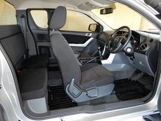 2012 Mazda BT-50 XTR (4x4) Silver 6 Speed Manual Freestyle Utility