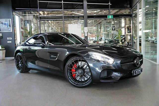 Used Mercedes-Benz AMG GT C190 807MY SPEEDSHIFT DCT North Melbourne, 2016 Mercedes-Benz AMG GT C190 807MY SPEEDSHIFT DCT Grey 7 Speed Sports Automatic Dual Clutch Coupe