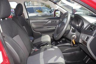 2016 Mitsubishi Triton MQ MY16 GLX+ Double Cab Red 6 Speed Manual Utility