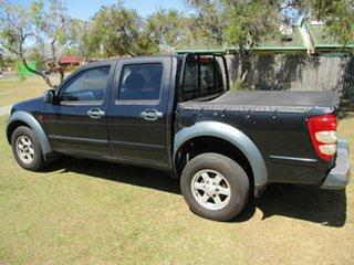 2012 Great Wall V200 K2 MY12 4x2 Black 6 Speed Manual Utility