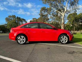 2015 Holden Cruze JH Series II MY16 Equipe Red 6 Speed Sports Automatic Sedan