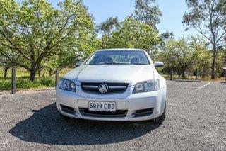 2010 Holden Commodore VE II Omega Silver 6 Speed Sports Automatic Sedan.