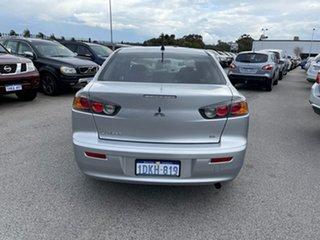 2010 Mitsubishi Lancer CJ MY11 ES Silver 6 Speed CVT Auto Sequential Sedan