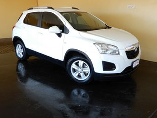 2014 Holden Trax TJ MY15 LS White 6 Speed Automatic Wagon.