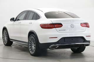 2017 Mercedes-Benz GLC-Class C253 GLC250 Coupe 9G-Tronic 4MATIC White 9 Speed Sports Automatic Wagon
