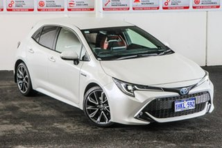 2020 Toyota Corolla ZWE211R ZR E-CVT Hybrid Crystal Pearl 10 Speed Constant Variable Hatchback.
