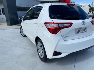 2018 Toyota Yaris NCP131R SX White 4 Speed Automatic Hatchback.