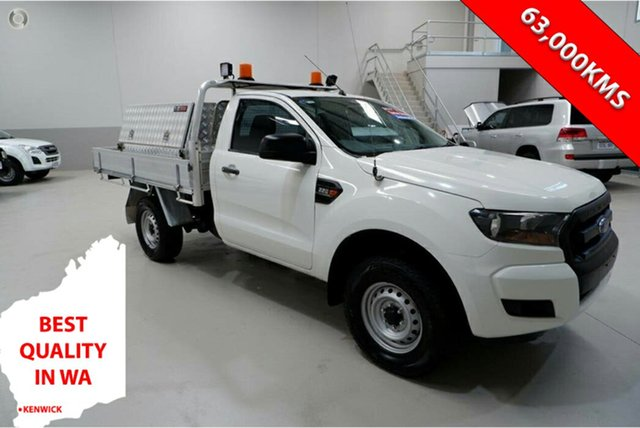 Used Ford Ranger PX MkII XL Hi-Rider Kenwick, 2016 Ford Ranger PX MkII XL Hi-Rider White 6 Speed Sports Automatic Cab Chassis
