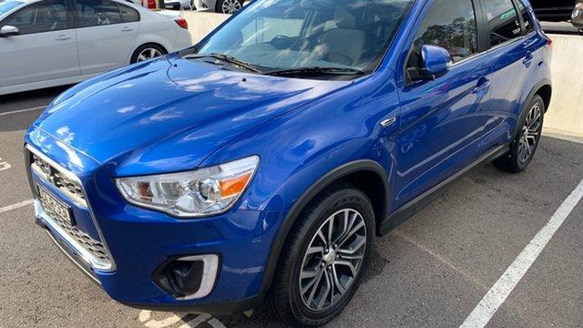 Used Mitsubishi ASX XB MY15.5 LS 2WD Maitland, 2016 Mitsubishi ASX XB MY15.5 LS 2WD Lightning Blue 6 Speed Constant Variable Wagon