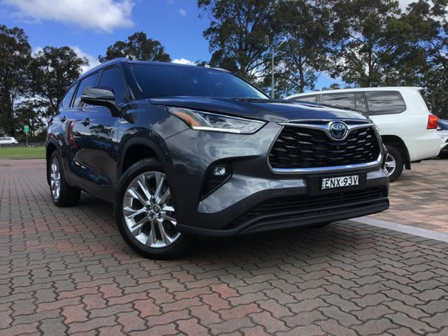 Pre-Owned Toyota Kluger Axuh78R Grande eFour Warwick Farm, 2021 Toyota Kluger Axuh78R Grande eFour Grey 6 Speed Constant Variable SUV Hybrid