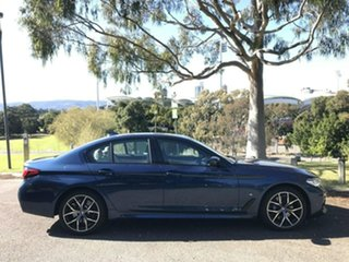 2020 BMW 5 Series G30 LCI 530d Steptronic M Sport Blue 8 Speed Sports Automatic Sedan.