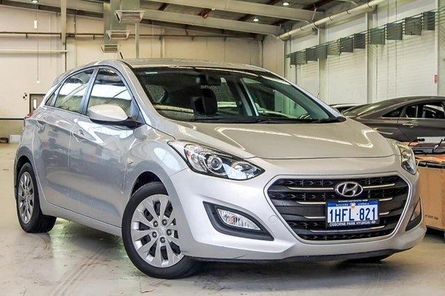Used Hyundai i30 GD4 Series II MY17 Active Osborne Park, 2016 Hyundai i30 GD4 Series II MY17 Active Silver 6 Speed Sports Automatic Hatchback