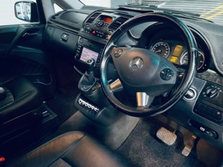 2011 Mercedes-Benz Viano 639 MY12 BlueEFFICIENCY Black 5 Speed Automatic Wagon