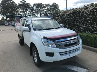 2015 Isuzu D-MAX MY15 SX 4x2 High Ride White 5 speed Automatic Cab Chassis.