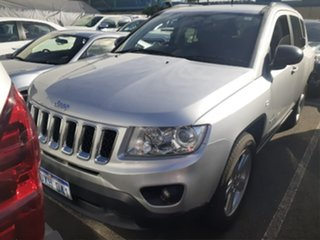 2012 Jeep Compass MK MY12 Limited (4x4) Silver Continuous Variable Wagon.