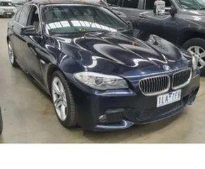 2012 BMW 5 Series F10 MY0712 520d Steptronic Black 8 Speed Sports Automatic Sedan.