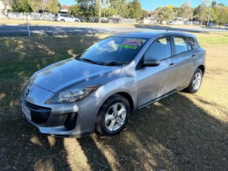 2012 Mazda 3 BL10F2 Maxx Activematic Sport Silver 5 Speed Sports Automatic Hatchback.