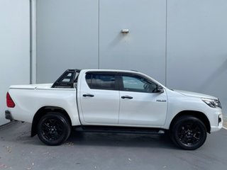 2019 Toyota Hilux GUN126R Rogue Double Cab Pearl White 6 Speed Sports Automatic Utility