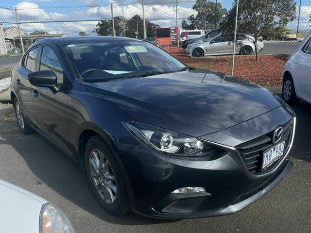 Used Mazda 3 BM MY15 Neo Traralgon, 2016 Mazda 3 BM MY15 Neo Grey 6 Speed Automatic Sedan