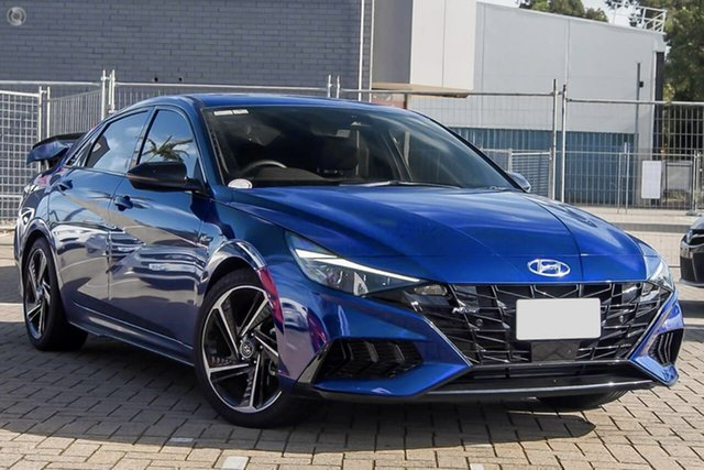 New Hyundai i30 CN7.V1 MY21 N Line D-CT Premium Oakleigh, 2021 Hyundai i30 CN7.V1 MY21 N Line D-CT Premium Blue 7 Speed Sports Automatic Dual Clutch Sedan