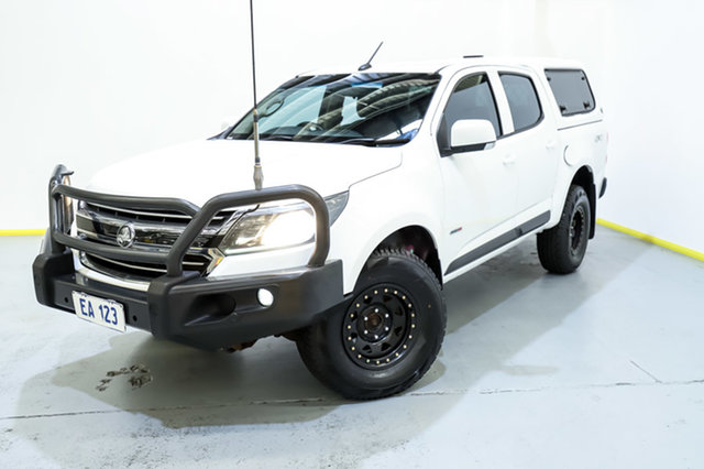 Used Holden Colorado RG MY16 LS-X Crew Cab Canning Vale, 2016 Holden Colorado RG MY16 LS-X Crew Cab White 6 Speed Sports Automatic Utility