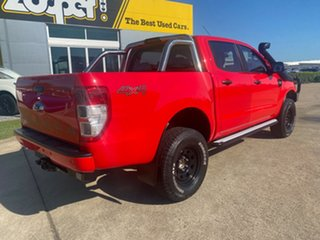 2018 Ford Ranger PX MkII 2018.00MY XLS Double Cab Red/210918 6 Speed Sports Automatic Utility.