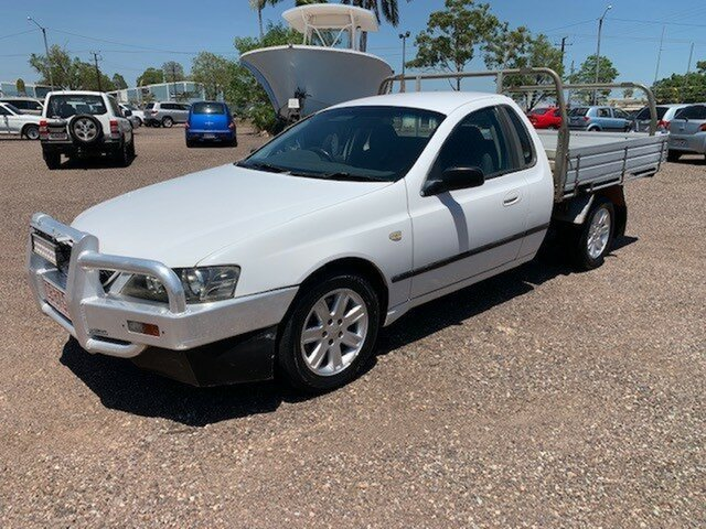 Used Ford Falcon BA Pinelands, 2003 Ford Falcon BA White 4 Speed Auto Active Select Utility