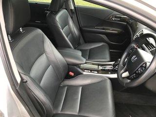 2014 Honda Accord 60 V6-L Silver 6 Speed Automatic Sedan