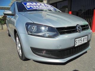 2013 Volkswagen Polo 6R MY13.5 77TSI DSG Comfortline Silver 7 Speed Sports Automatic Dual Clutch.