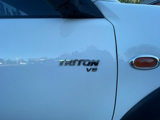 2009 Mitsubishi Triton ML MY09 GLX 4x2 White 4 Speed Automatic Cab Chassis