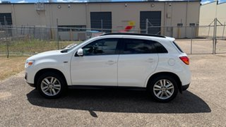 2013 Mitsubishi ASX XB MY14 Aspire (4WD) White 6 Speed Automatic Wagon