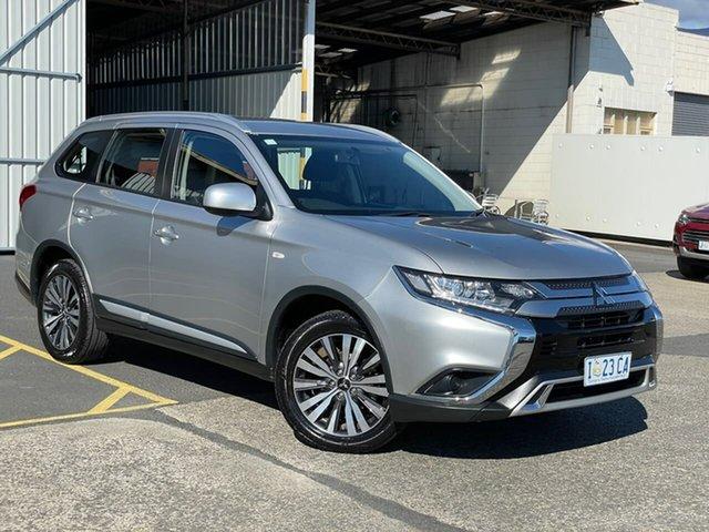 Used Mitsubishi Outlander ZL MY19 ES AWD Moonah, 2018 Mitsubishi Outlander ZL MY19 ES AWD Silver 6 Speed Constant Variable Wagon