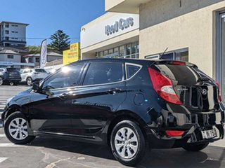 2016 Hyundai Accent RB4 MY16 Active Black 6 Speed Constant Variable Hatchback.