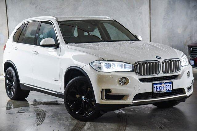 Used BMW X5 F15 xDrive30d Osborne Park, 2014 BMW X5 F15 xDrive30d White 8 Speed Sports Automatic Wagon