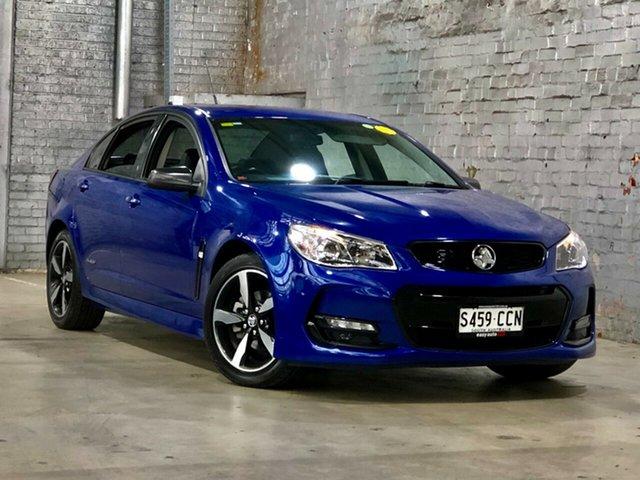 Used Holden Commodore VF II MY16 SV6 Black Mile End South, 2016 Holden Commodore VF II MY16 SV6 Black Blue 6 Speed Sports Automatic Sedan