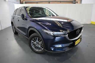 2020 Mazda CX-5 KF4WLA Touring SKYACTIV-Drive i-ACTIV AWD Blue 6 Speed Sports Automatic Wagon.