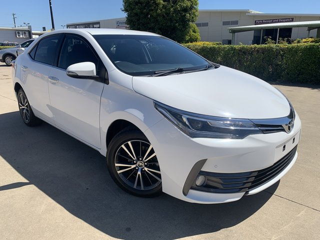 Used Toyota Corolla ZRE182R ZR S-CVT Townsville, 2018 Toyota Corolla ZRE182R ZR S-CVT White/270818 7 Speed Constant Variable Hatchback