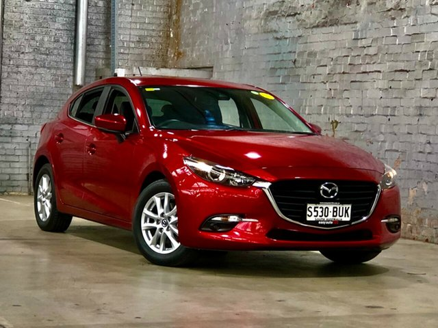 Used Mazda 3 BN5478 Touring SKYACTIV-Drive Mile End South, 2017 Mazda 3 BN5478 Touring SKYACTIV-Drive Red 6 Speed Sports Automatic Hatchback